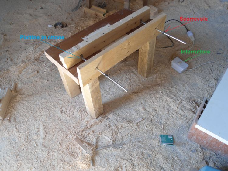 for Banco fresa legno