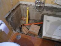2 -Piatto doccia al posto della vasca. Fai da te 1