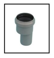 Riduzione in PVC da 40 a 32 mm 1