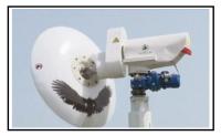 Una turbina eolica senza pale avente un solo disco oscillante 1