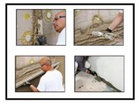 Intonacatura della componente a secco del cappotto termico tramite intonaco cementizio a prestazioni superiori 1