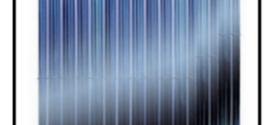 Collettori solari a tubi sottovuoto per la  produzione di acqua calda con una migliore resa e durata