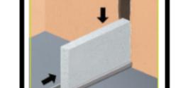 Montare una parete interna divisoria in calcestruzzo cellulare
