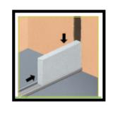 6 Montare una parete interna divisoria in calcestruzzo cellulare 1