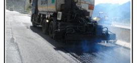 Asfalti stradali anti rumore modificati con polverino di gomma di vecchi pneumatici.