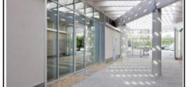 Un isolamento termico di un edificio pubblico realizzato con presse di paglia
