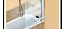 Come mettere in opera una paratia di vetro o di altro materiale trasparente per avere una comoda vasca-doccia