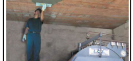 Sabbia inerte leggera per realizzare intonaci resistenti al fuoco