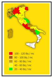 Il Radon in Italia 1