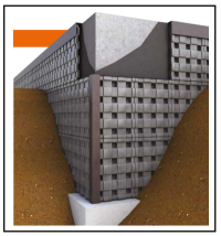 Un pannello in PP riciclato per la protezione dei muri controterra 1