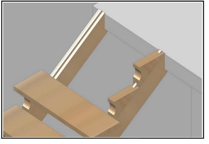 - Costruire scala interna ...