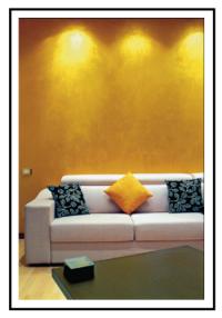 Come eseguire finiture decorative iridescenti per interni 1