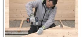 Come realizzare una casetta da giardino partendo dal basamento fino al tetto; tutte le operazioni necessarie.