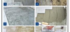Realizzazione veloce di un massetto in calcestruzzo armato per la posa di una pavimentazione esterna
