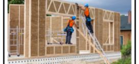 Pannelli di paglia compressa per una casa ecologica sicura e duratura nel tempo