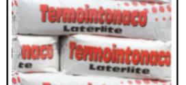 Un termointonaco laterlite a base di cemento – Un intonaco termoisolante a base di vetro espanso