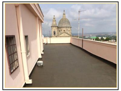 Un sistema impermeabilizzante che permette il completo - Impermeabilizzazione terrazze pavimentate ...