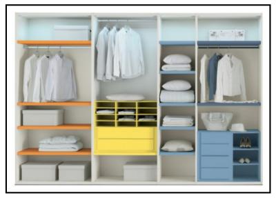 Articolo dedicato a lei una stanza un angolo un ambiente - Disposizione stanze casa ...