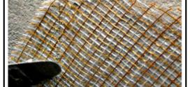 Rinforzo strutturale delle murature con rete fibrosa POB