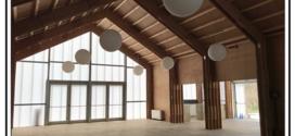 Un edificio prefabbricato, in compensato autoportante antisismico, progettato in Italia