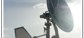Un convertitore eolico a forma di parabola satellitare in fase di sperimentazione