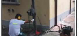 Consolidamento delle fondazioni con resine e pali per eliminare dissesti e lesioni