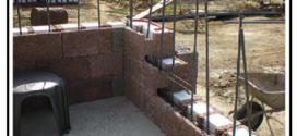 Realizzare una costruzione in cemento armato senza travi e pilastri ma utilizzando solamente idonei blocchi cassero in legno armati