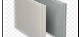 Un sistema costituito da resistenti e robuste lastre in gessofibrato per la realizzazione di pareti divisorie autoportanti, contropareti