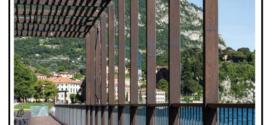 Un sistema di doghe e profili in legno composito (WPC) per pavimentazioni esterne destinato esclusivamente al traffico pedonale