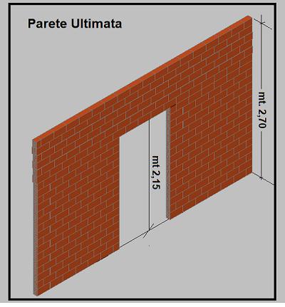 Mattoni Forati Per Recinzioni Giardino.Costruire Una Parete Interna In Forati Compreso Architravatura Di