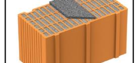 Un blocco in laterizio antisismico dalle alte prestazioni di isolamento termico, acustico e di resistenza meccanica  nonché pratico e di facile applicazione