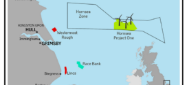Realizzazione di parchi eolici offshore di grande estensione tali da servire milioni di persone