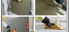 Come realizzare una pavimentazione in gres laminato a basso spessore, dai 3 ai 5 mm, con o senza rete in fibra di vetro