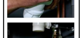 Come smontare pulire e rimontare un sifone occluso, intervento molto semplice ma importante per chi vuole risparmiare