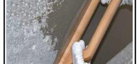 Una malta cementizia fibrorinforzata livellante a presa rapida per pareti e pavimenti