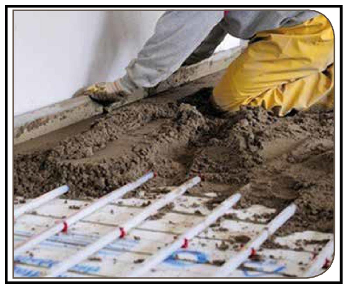Massetto Per Pavimento Riscaldato realizzazione con idonei materiali di un massetto per