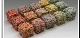 Un calcestruzzo drenante fonoassorbente naturale o colorato ottimo per le pavimentazioni drenanti