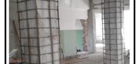 Incamiciatura di pilastri danneggiati con l'ausilio di giunzioni GTS