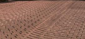 Una pavimentazione in quarzo porfido stile antico