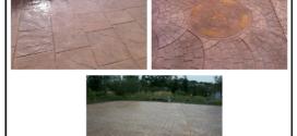 Pavimentazioni esterne, quali piazzali e marciapiedi, in cemento stampato