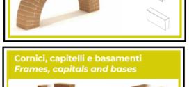 Accessori importanti in laterizio per le facciate degli edifici