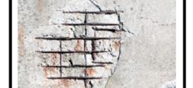 Una geomalta minerale, a base di geolegante per il ripristino delle strutture in calcestruzzo degradato
