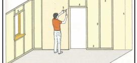 Rivestire internamente le murature perimetrali con cartongesso e listellatura in legno tenero